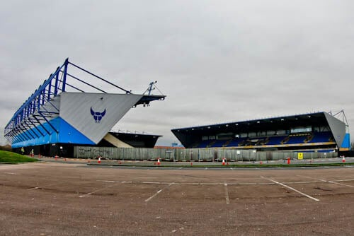 Oxford United - Stadium Location