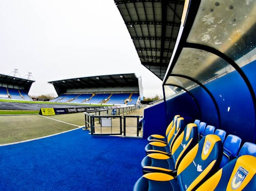 Oxford United - Dugout and Pitchside