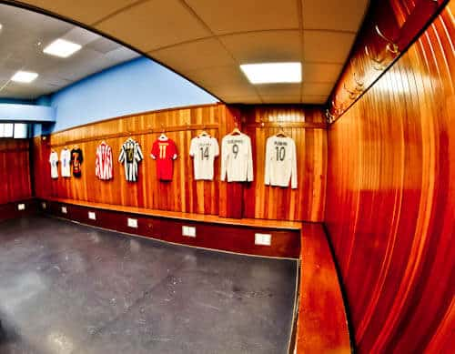 Ibrox Stadium - Away Team Dressing Room