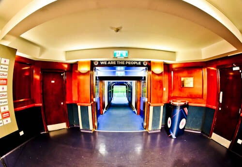 Ibrox Stadium - Players Tunnel