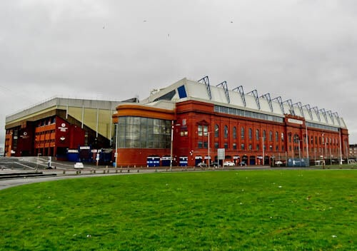 Ibrox Stadium - Location