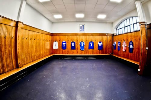Ibrox Stadium - Home Team Dressing Rooms