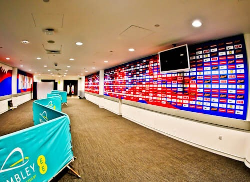 Wembley Stadium Tour - Flash Media Rooms