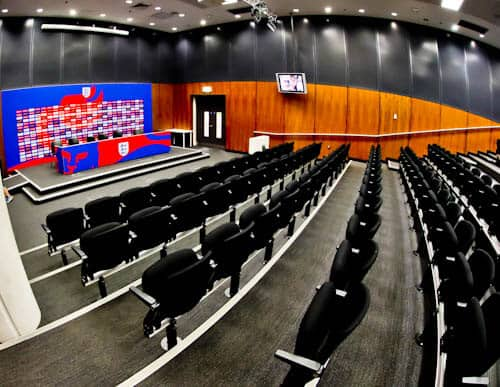 Wembley Stadium Tour - Press Room