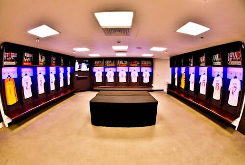 Wembley Stadium Tour - Home Team Dressing Room