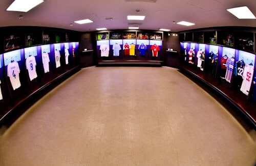 Wembley Stadium Tour - Away Team Dressing Room