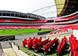 Wembley Stadium Tour - Pitch Side and Dugout