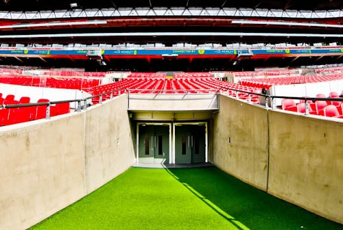 Wembley Stadium Tour - Players Tunnel