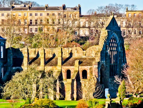 Edinburgh Landmarks + Top Instagram Spots - Holyrood Abbey