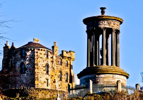 Edinburgh Landmarks + Top Instagram Spots - Dugald Stewart Monument