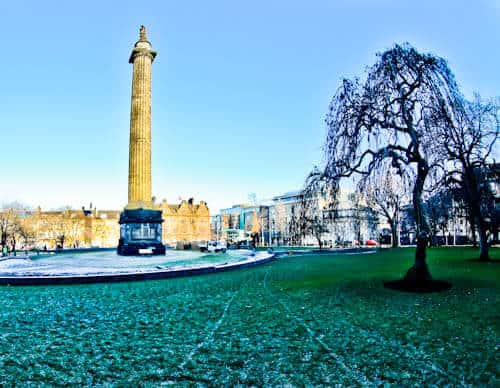 Edinburgh Landmarks + Top Instagram Spots - St Andrews Square