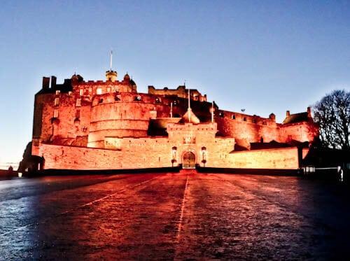 Edinburgh Landmarks - Edinburgh Castle