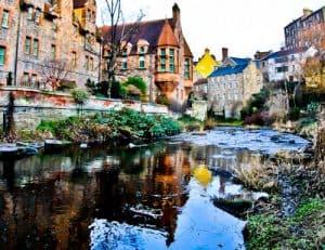 Dean Village - Top Edinburgh Instagram Spot - Dean Village