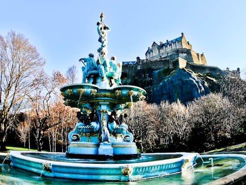 Edinburgh Landmarks + Top Instagram Spots - Princes Street Gardens