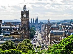 Edinburgh Landmarks + Top Instagram Spots - Princes Street