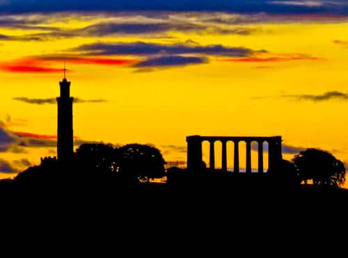 Edinburgh Landmarks + Top Instagram Spots - Calton Hill