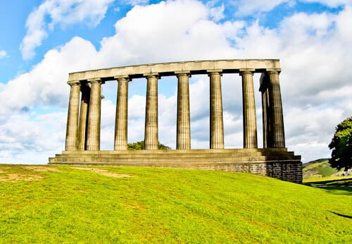 Edinburgh Landmarks + Top Instagram Spots - National Monument of Scotland