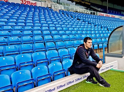 Elland Road Stadium Tour - Leeds United - Pitchside and Dugout