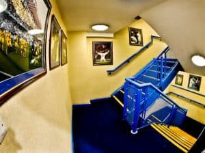 Elland Road Stadium Tour - Leeds United - Champions League Staircase