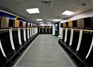 Elland Road Stadium Tour - Leeds United - Home Team Dressing Room