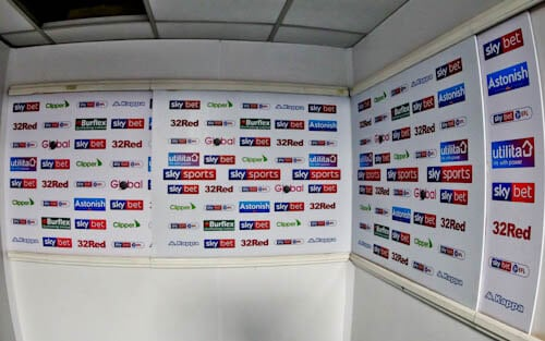 Elland Road Stadium Tour - Leeds United - Flash Interview Rooms