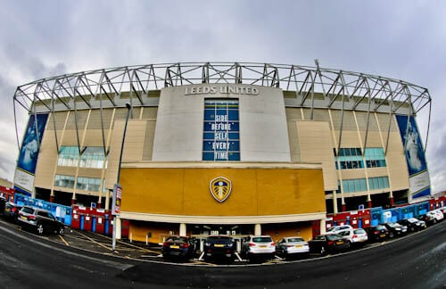 Elland Road Stadium Tour - Leeds United - Location