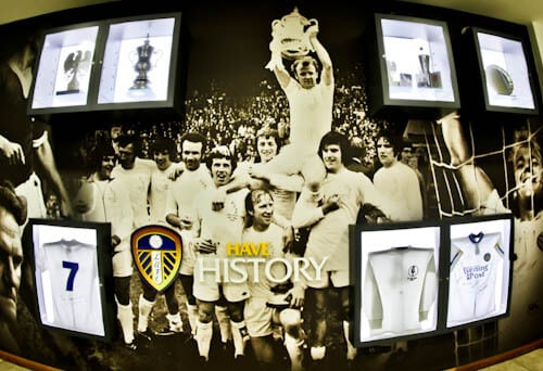 Elland Road Stadium Tour - Leeds United - History