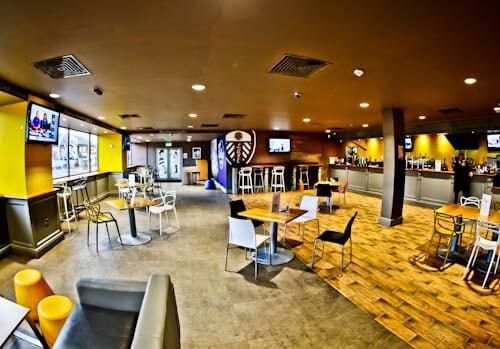 Elland Road Stadium Tour - Leeds United - Billy Bremner Bar