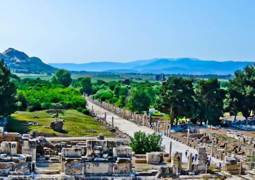 Ephesus Turkey - Arcadian Street