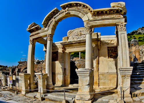 Ephesus Turkey - Temple of Hadrian