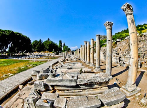 Ephesus Turkey - Marble Road
