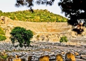 Ephesus Turkey - Theater Gymnasium