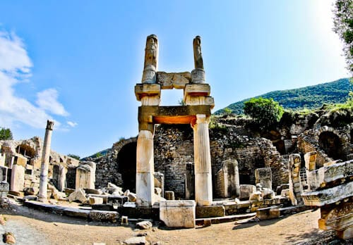 Ephesus Turkey - Domitian Square