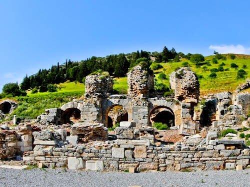 Ephesus Turkey - Bath of Varius