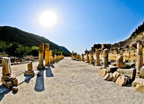 Ephesus Turkey - Basilica