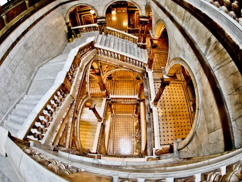 Glasgow Landmarks - City Chambers Marble Staircase