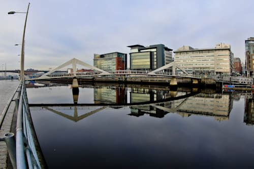 Glasgow Landmarks - Bridges over the River Clyde