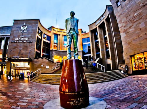 Glasgow Landmarks - Buchanan Street and Glasgow Royal Concert Hall