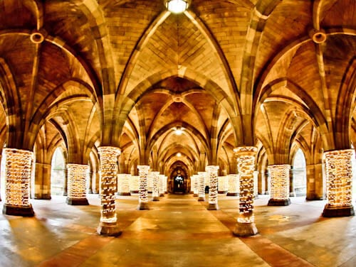 Glasgow Landmarks - Glasgow University Cloisters