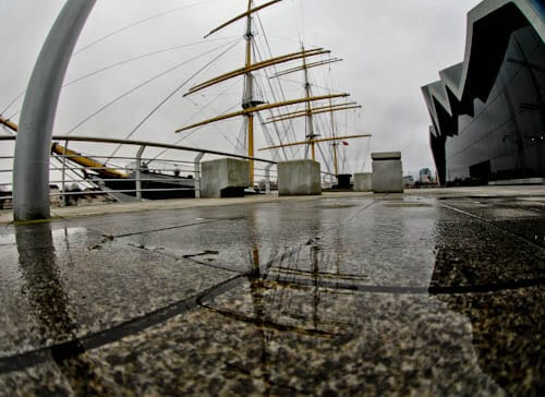 Glasgow Landmarks - Riverside Museum and Tall Ship