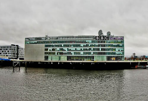 Glasgow Landmarks - BBC Scotland Building