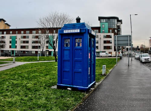 Glasgow Landmarks - Doctor Who Tardis
