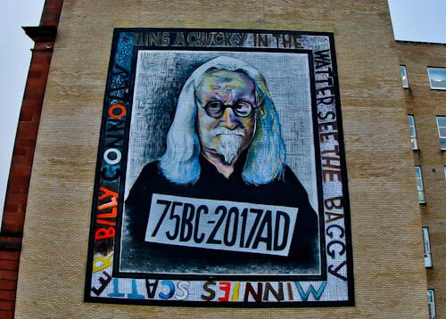 Glasgow Landmarks - Billy Connolly Mural