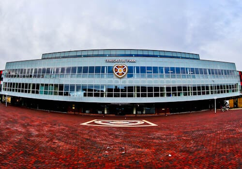 Tynecastle Park - Hearts FC Matchday Experience and Stadium Tour - Edinburgh - Location