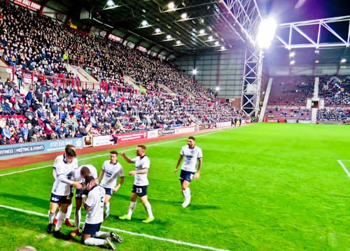 Tynecastle Park - Hearts FC Matchday Experience and Stadium Tour - Edinburgh - Hearts FC Vs Dundee United