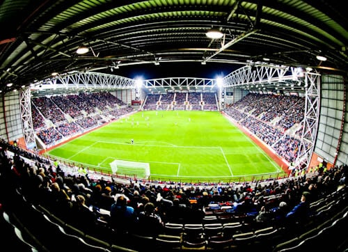 Tynecastle Park - Hearts FC Matchday Experience and Stadium Tour - Edinburgh - Matchday Atmosphere
