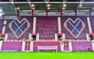 Tynecastle Park - Hearts FC Matchday Experience and Stadium Tour - Edinburgh