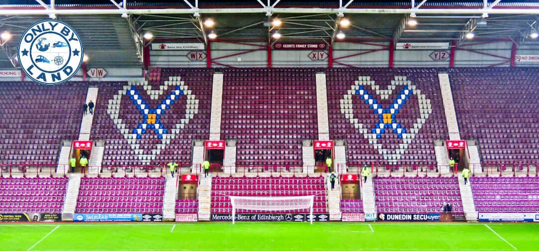 Tynecastle Park - Hearts FC Matchday Experience and Stadium Tour - Edinburgh