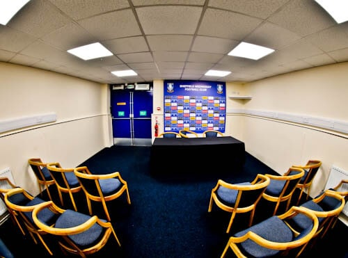 Hillsborough Stadium Tour - Sheffield - Press Room