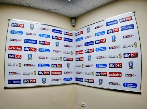 Hillsborough Stadium Tour - Sheffield - Flash Interview Room